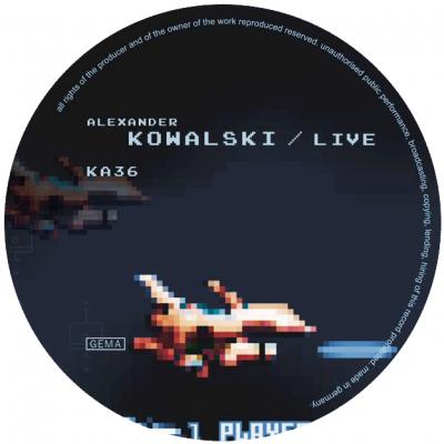 ka036 | 12″ ALEXANDER KOWALSKI Live