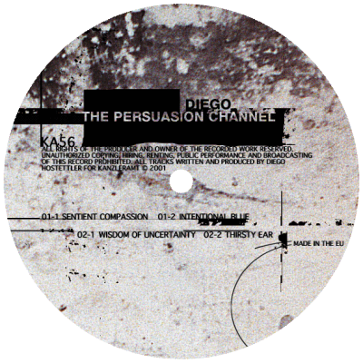 ka056 | 12″ <br>DIEGO HOSTETTLER <br>The Persuasion Channel