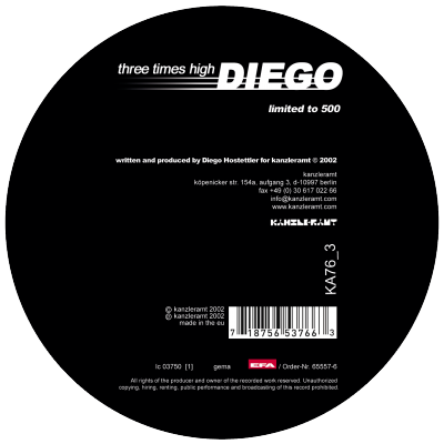 ka076_3 | 12″ <br>DIEGO HOSTETTLER <br>Three Times High