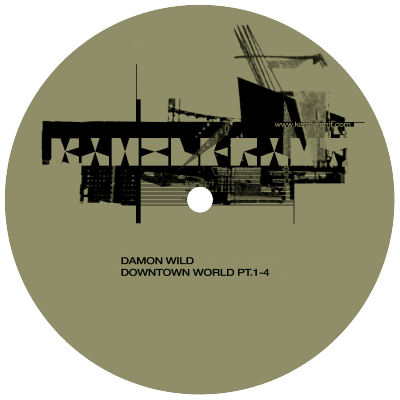 ka086 | 12″ <br>DAMON WILD <br>Downtown World