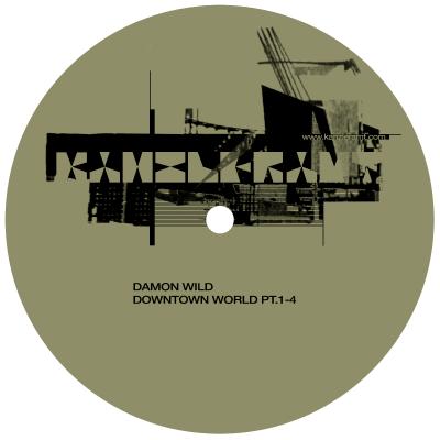ka086 | 12″ DAMON WILD Downtown World