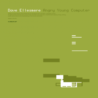 ka093 | CD <br>DAVE ELLESMERE <br>Angry Young Computer