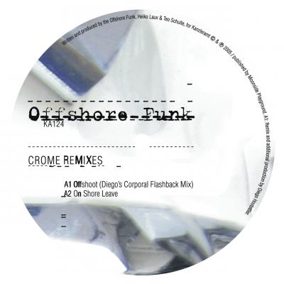 ka124 | 12″ OFFSHORE FUNK Crome Remixes SPIRIT CATCHER