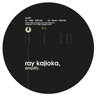 ka140 | 12&#8243; <br>RAY KAJIOKA <br>Simplify