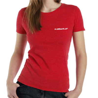 katsGrd | T-Shirt <br>Kanzleramt <br>GIRL RED