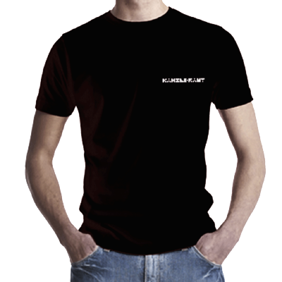 katsMbl | T-Shirt <br>Kanzleramt <br>MEN BLACK
