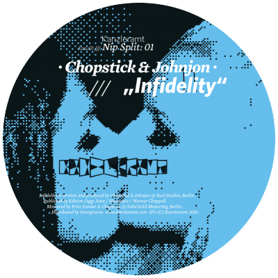 kasu01 | 12″ <br>CHOPSTICK & JOHNJON | PETER HORREVORTS <br>Nip Split