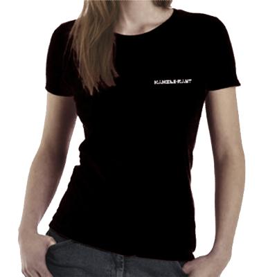 katsGbl | T-Shirt <br>Kanzleramt <br>GIRL BLACK