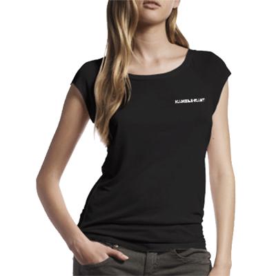 katsGblBAM | T-Shirt<br>Kanzleramt Bamboo T-Shirt <br>GIRL BLACK