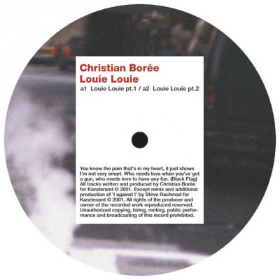 ka054 | 12″ CHRISTIAN BOREE Louie Louie