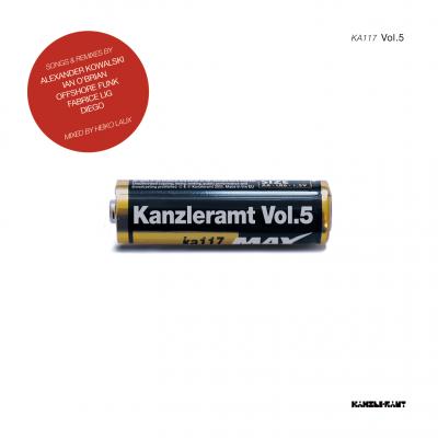 ka117 | CD VARIOUS ARTISTS Kanzleramt Vol. 5 mixed by Heiko Laux