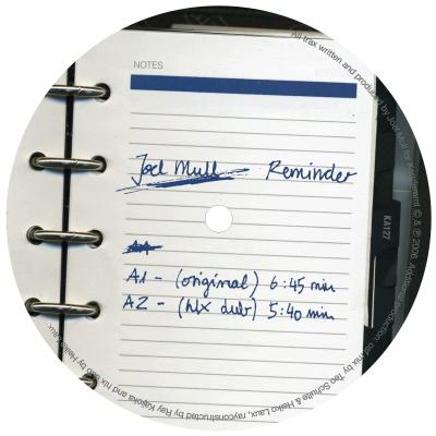 ka127 | 12″ <br>JOEL MULL <br>Reminder <br>RAY KAJIOKA | OFFSHORE FUNK | HEIKO LAUX