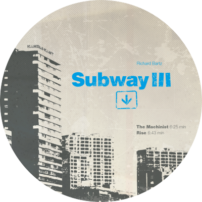 ka148 | 12″ <br>RICHARD BARTZ <br>Subway III